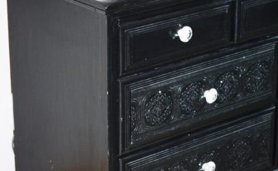 Paintable Wallpaper Dresser 25