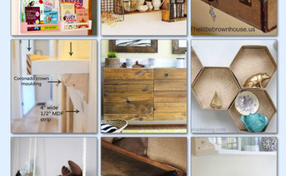 20 Clever Ways to Create Shelves