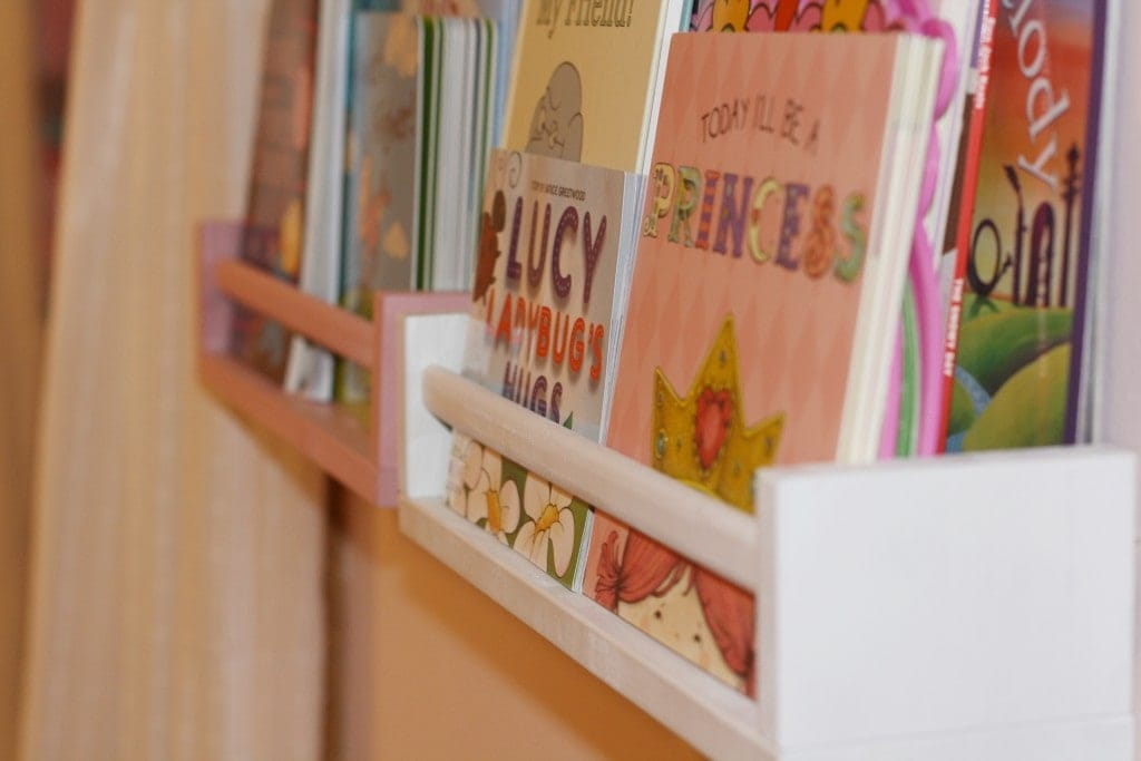IKEA Spice Racks turned Book Shelves - www.refashionablylate.com