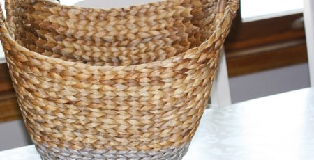 Painted Basket Project 9