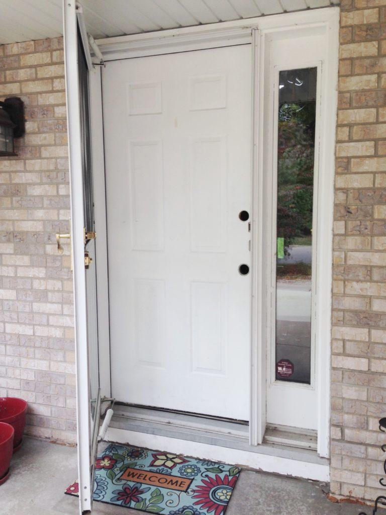 Front Door Makeover - www.refashionablylate.com