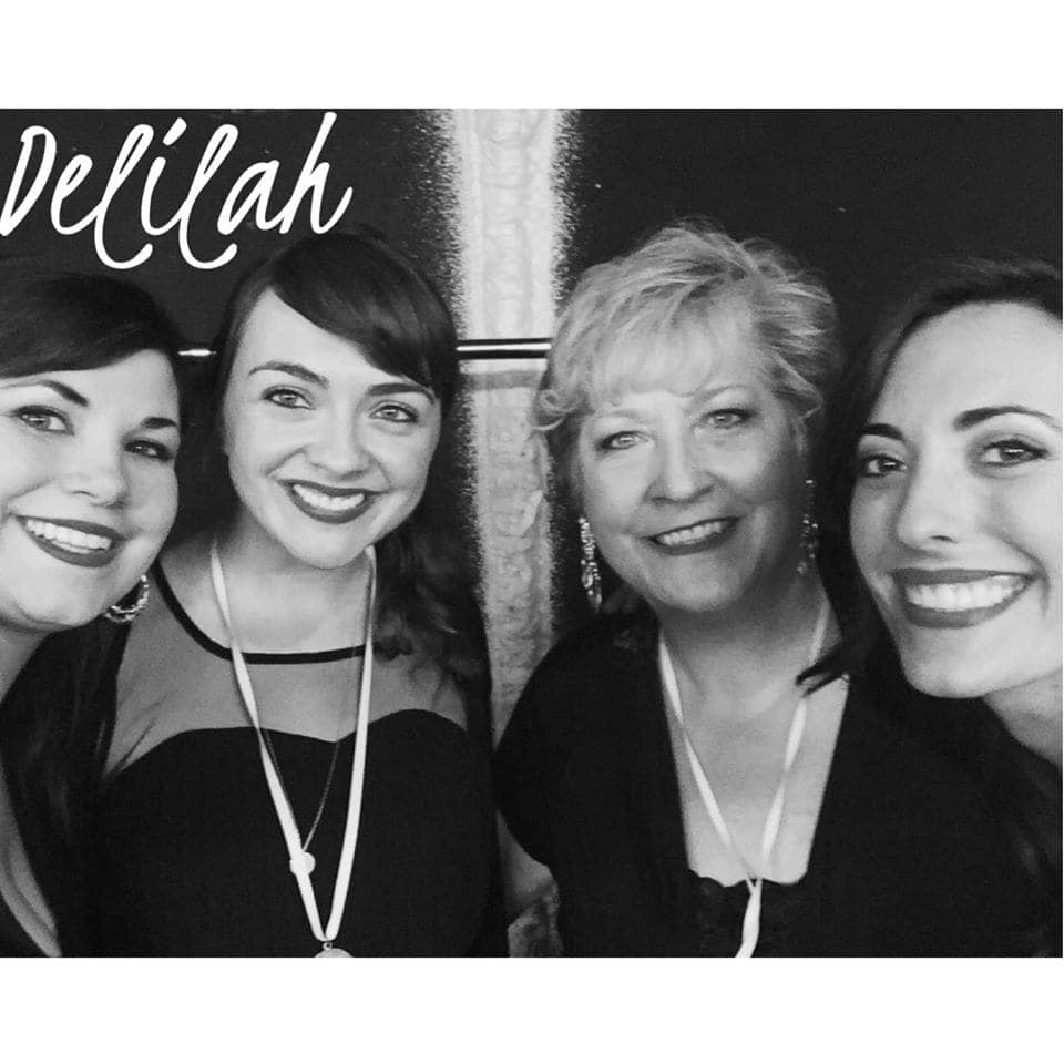 Delilah Quartet - www.refashionablylate.com