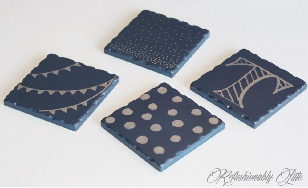 Coasters Revamp - www.refashionablylate.com
