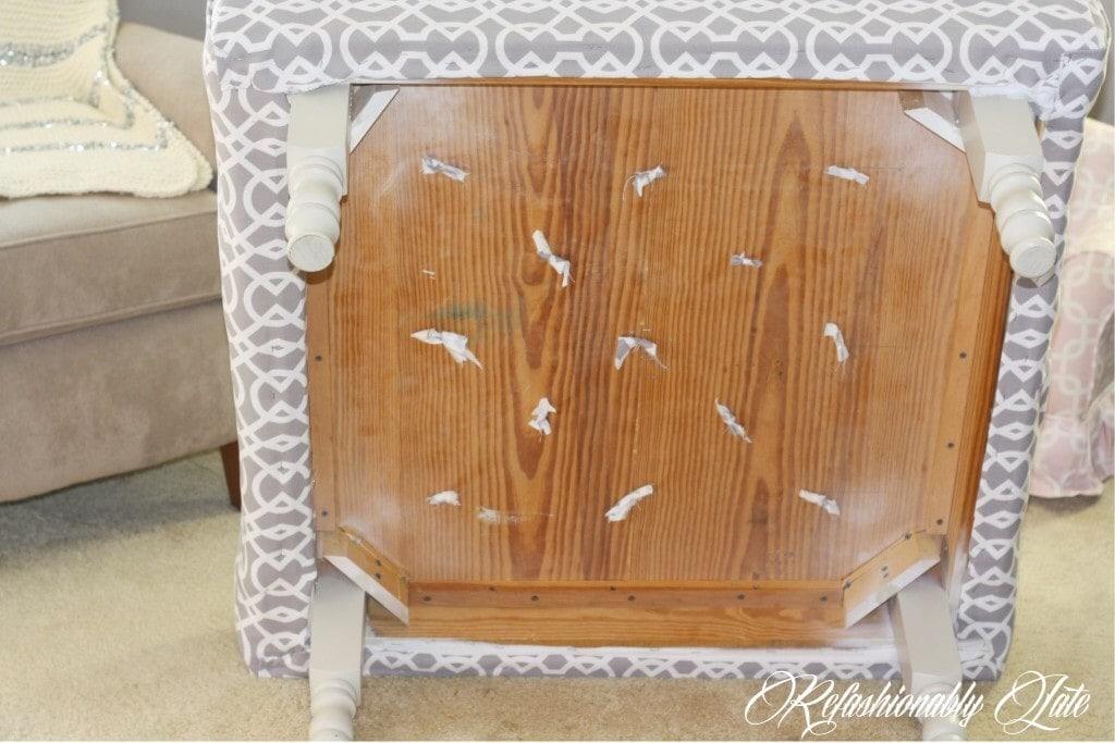 DIY Tufting - www.refashionablylate.com