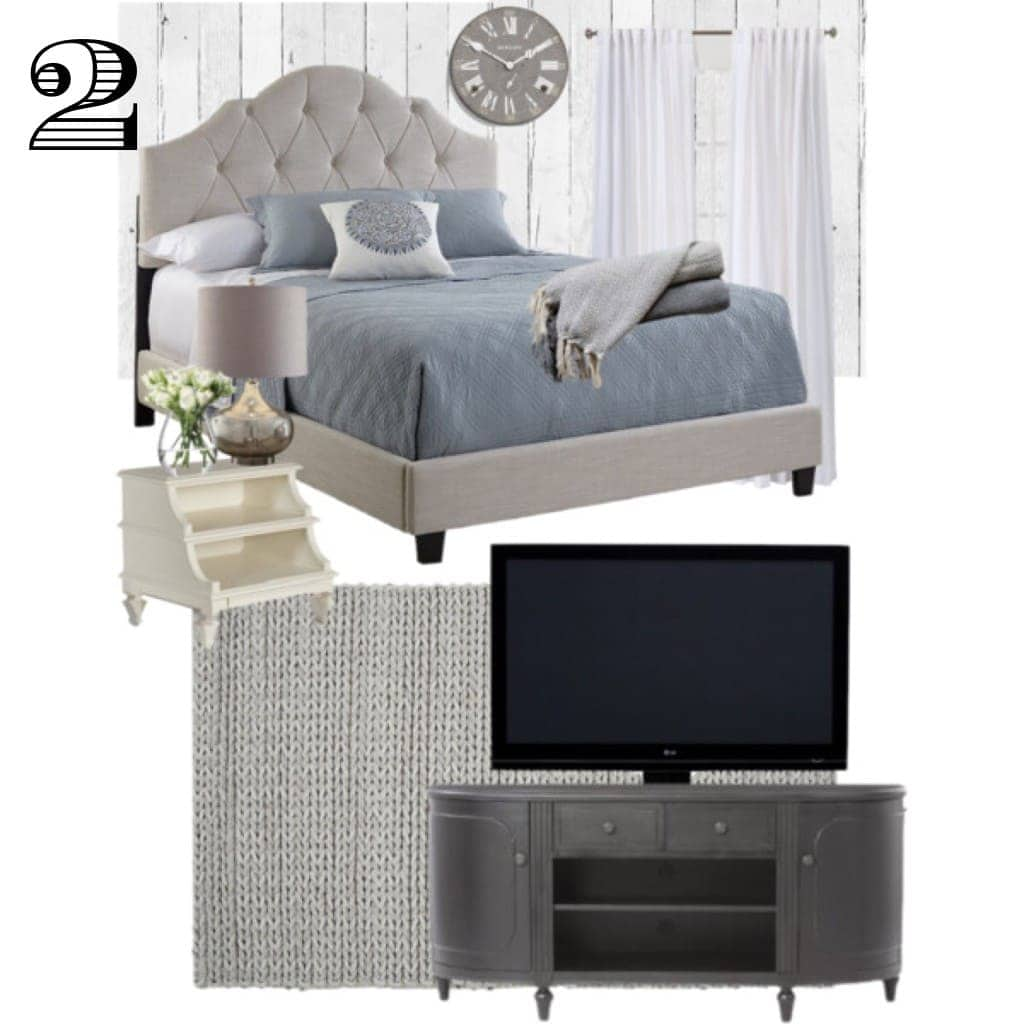 Master Bedroom Style Board - www.refashionablylate.com