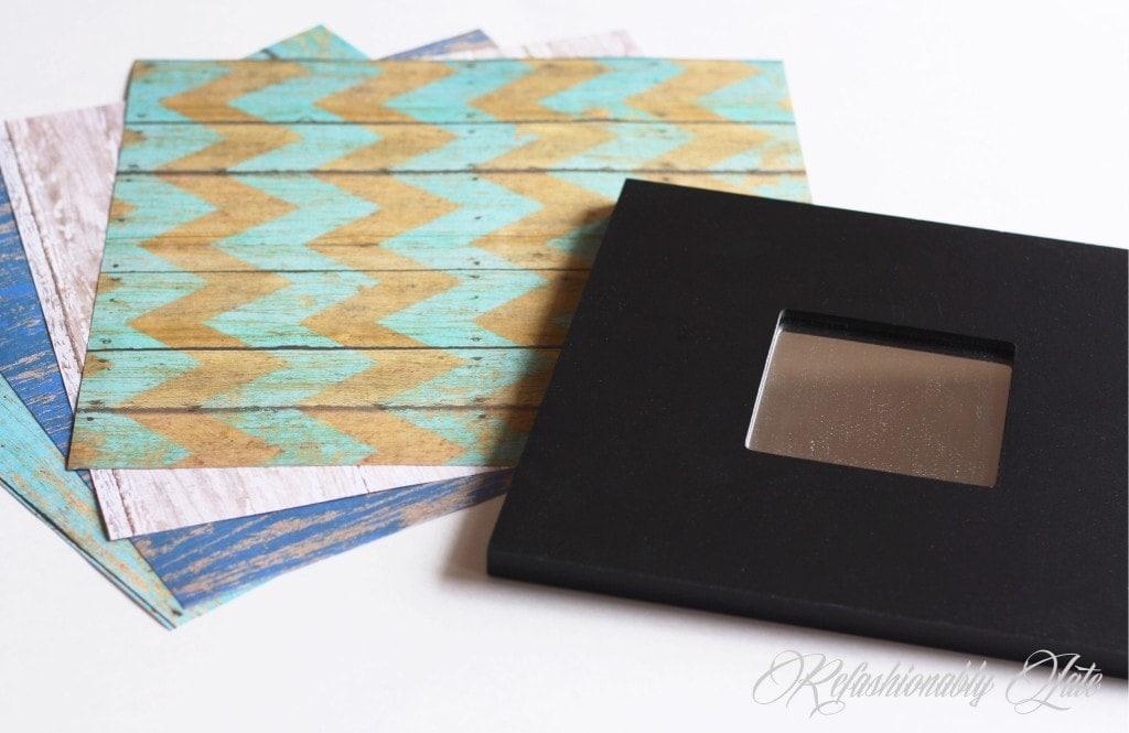 Ikea Mirror Makeover - www.refashionablylate.com
