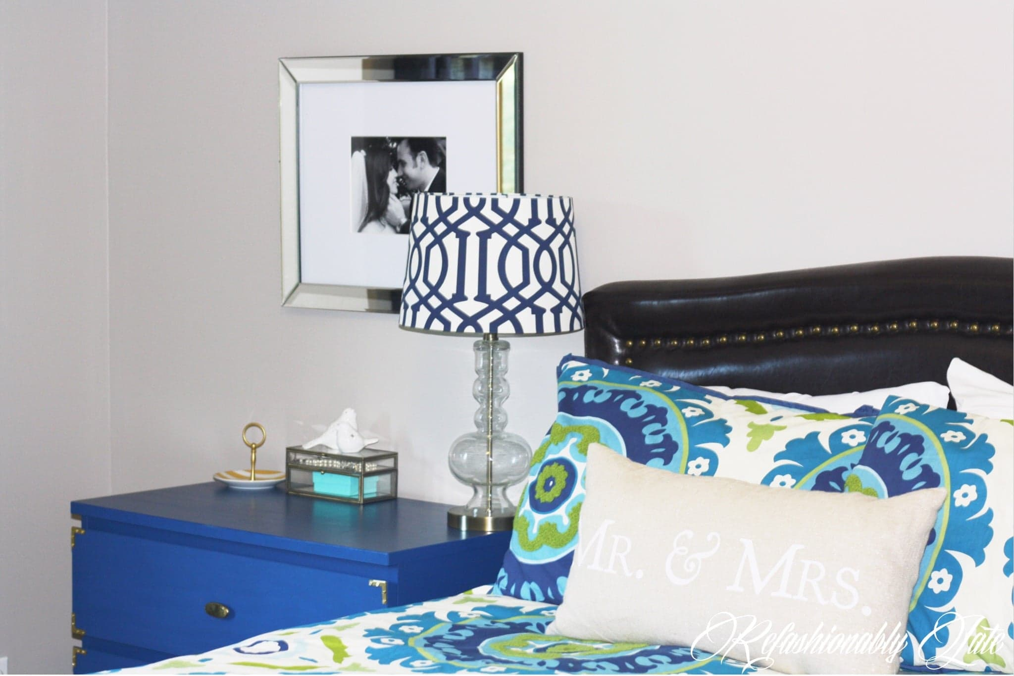 Mini Master Bedroom Makeover - www.refashionablylate.com