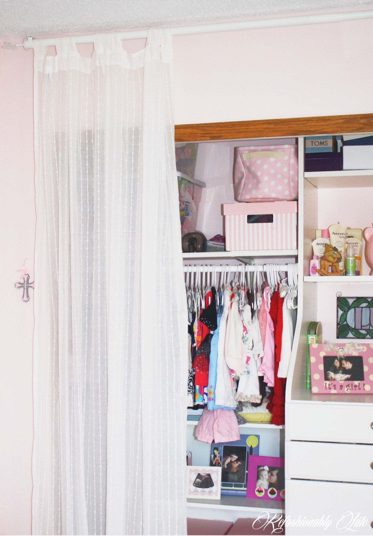 One Room Challenge Lucy's Room Week 1 - www.refashionablylate.com