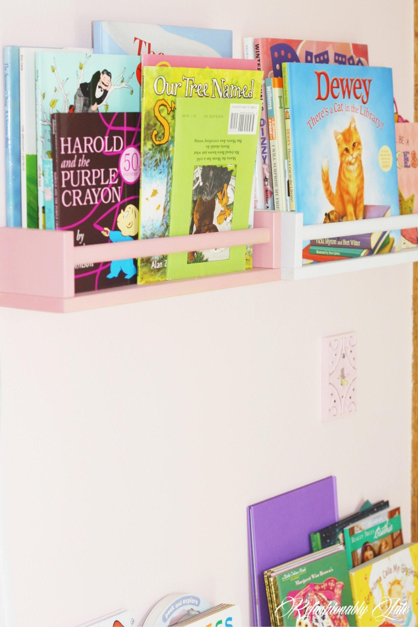 One Room Challenge Lucy's Room Week 1 - www.refashionablylate.com
