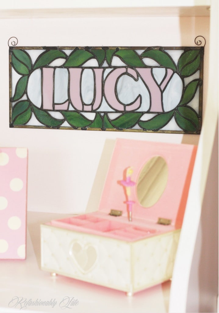 Little Girl's Nursery - www.refashionablylate.com