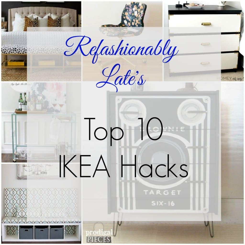 Refashionably Late's Top 10 Ikea Hacks