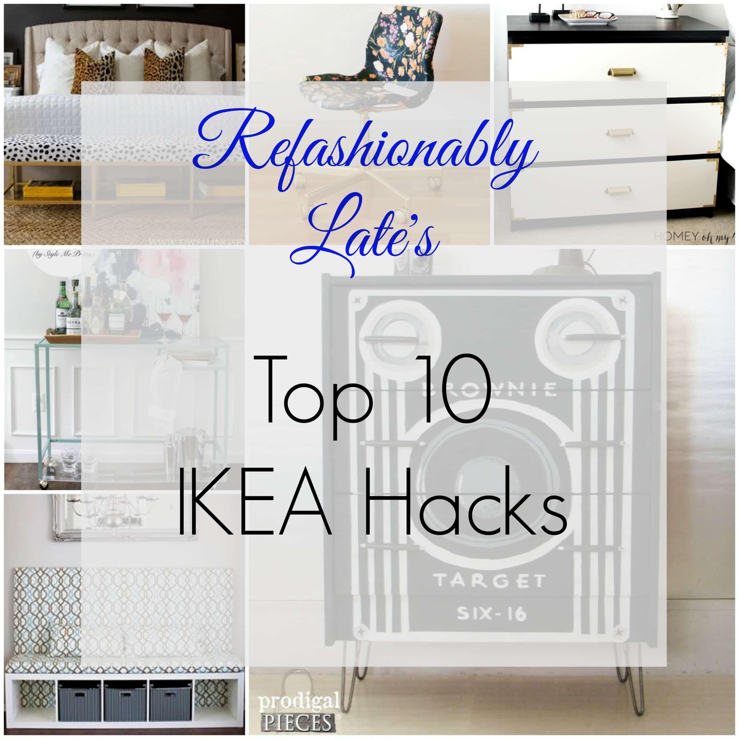Friday Favorite Top 10 Ikea Hacks Refashionably Late