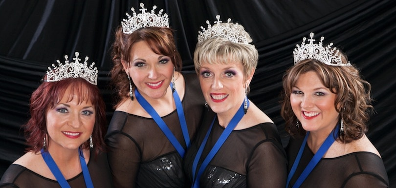 Bling! Quartet - www.refashionablylate.com
