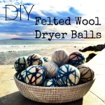 Friday Favorite: DIY Felted Wool Dryer Balls