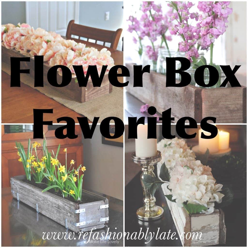 Flower Box Favorites - www.refashionablylate.com