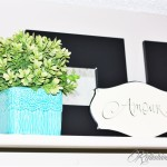 Bedroom Shelf Makeover
