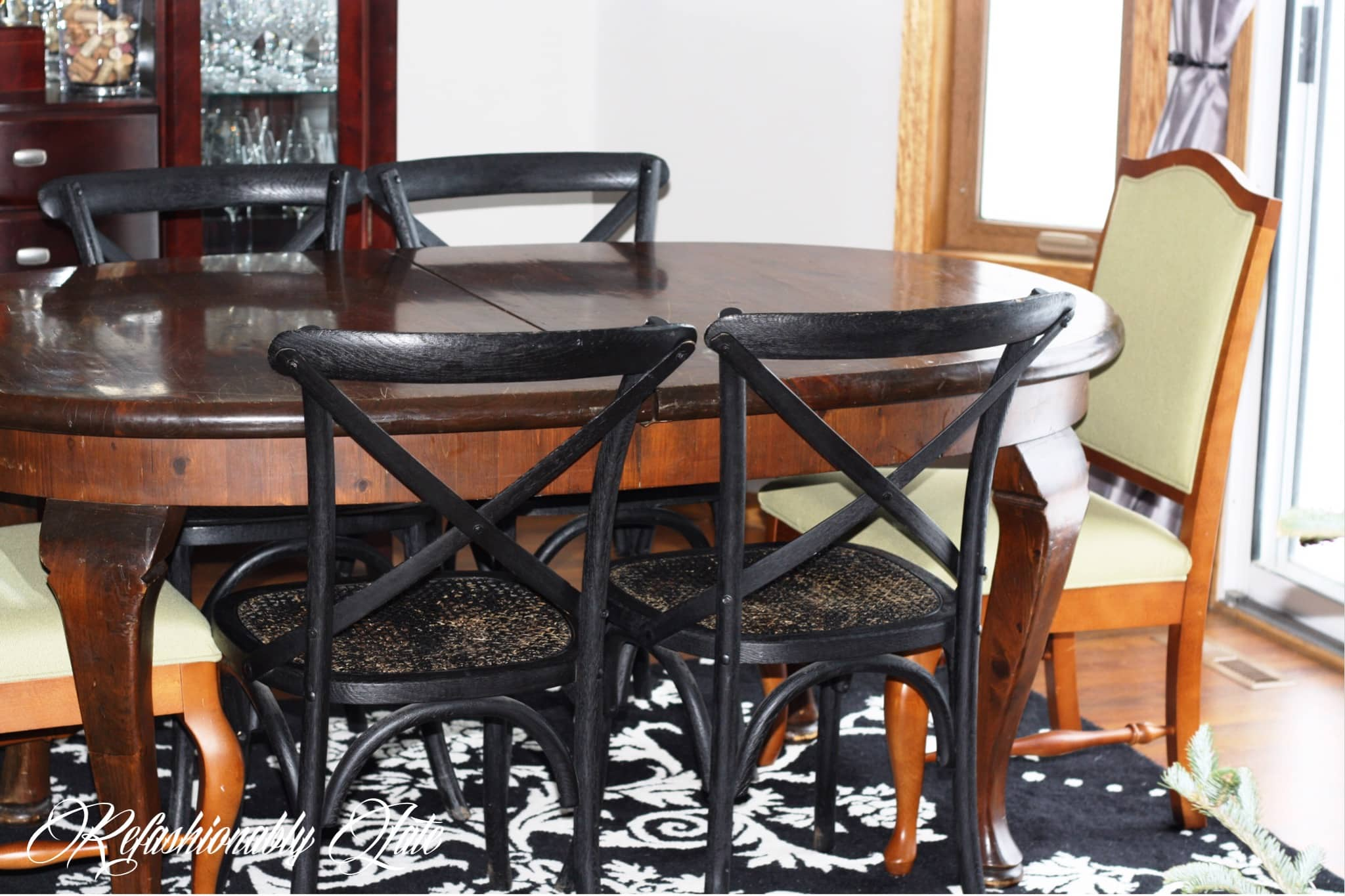 Restored Restoration Hardware Chairs   Www.refashionablylate.com