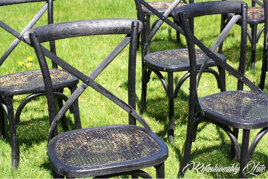 Restored Restoration Hardware Chairs - www.refashionablylate.com