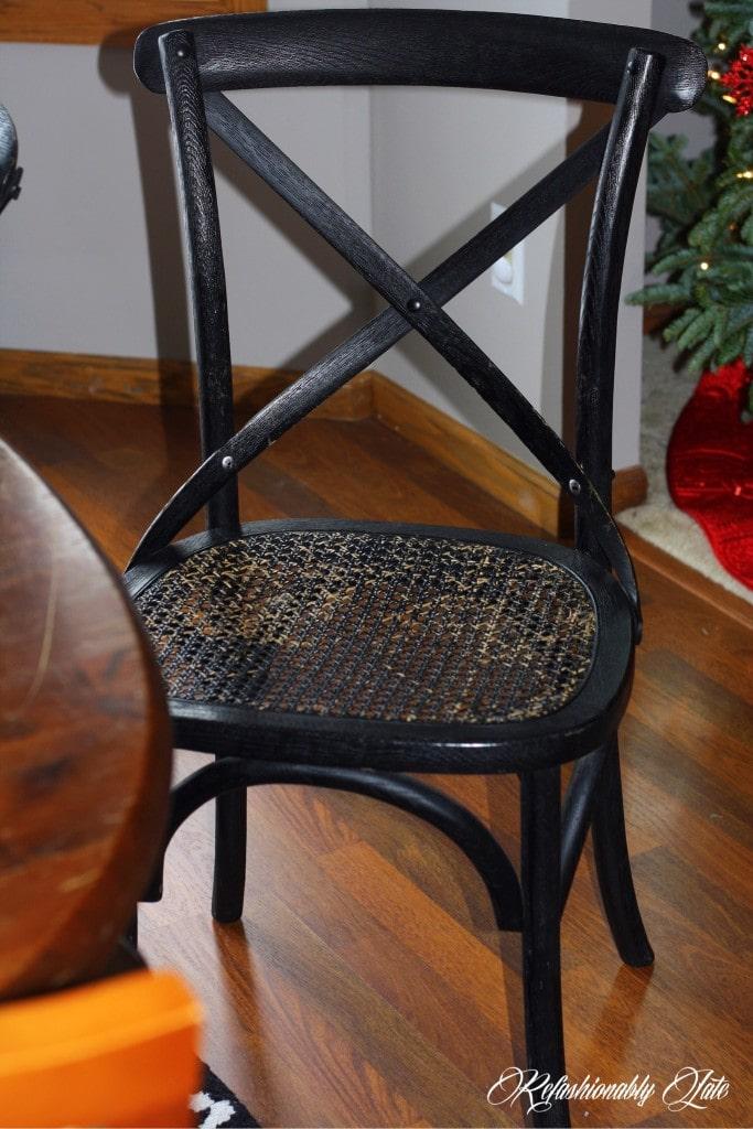 Restored Restoration Hardware Chairs - www.refashionablylate.com