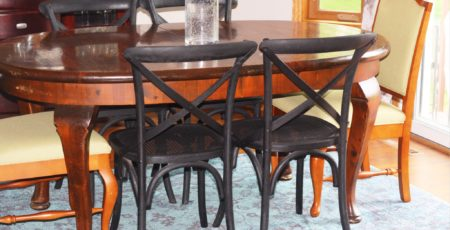 Restored Restoration Hardware Chairs 6