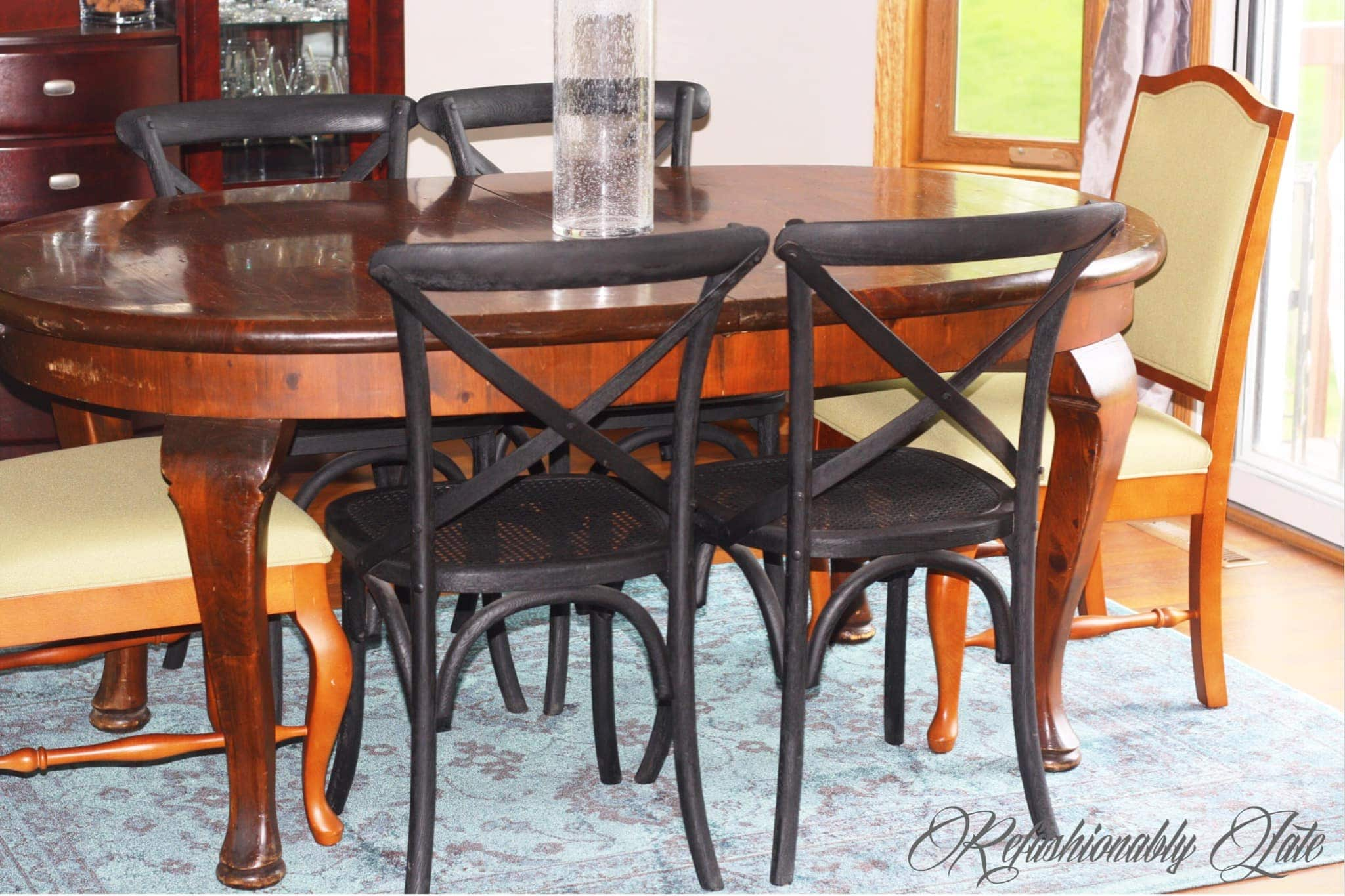Restored Restoration Hardware Chairs Refashionably Late