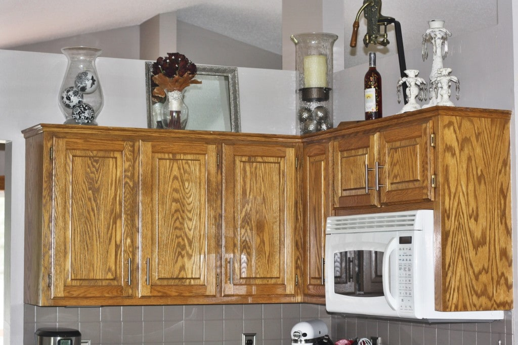 Wood Kitchen Cabinets - www.refashionablylate.com