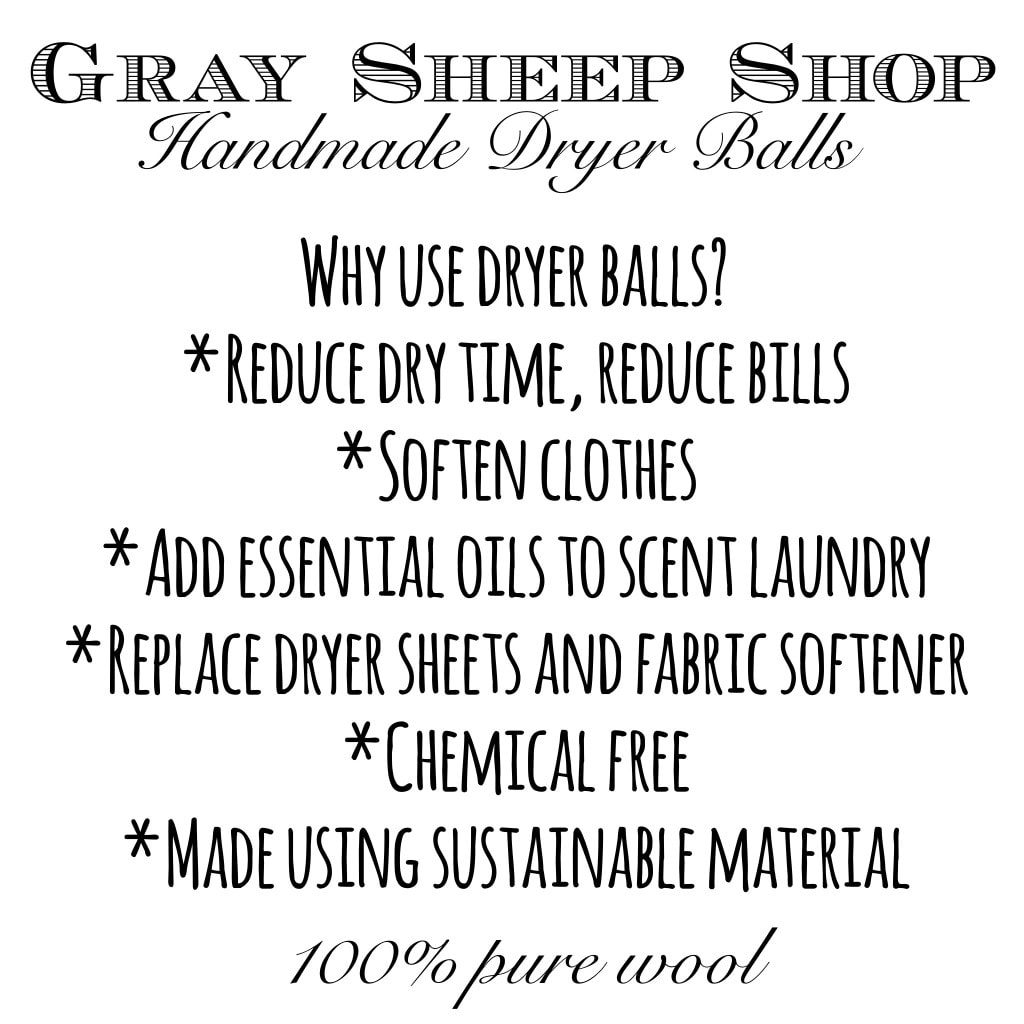 DIY Felted Wool Dryer Balls - www.refashionablylate.com