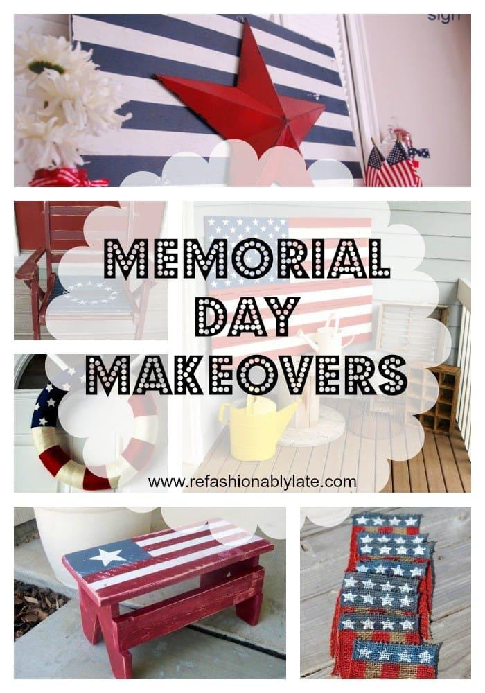 Memorial Day Makeovers - www.refashionablylate.com