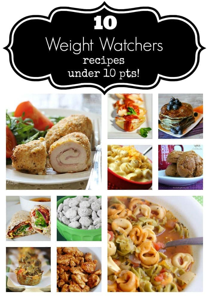 10 Weight Watchers Recipes Under 10 Points - www.refashionablylate.com