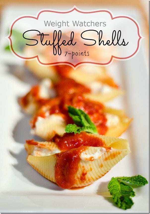 WW Stuffed Shells