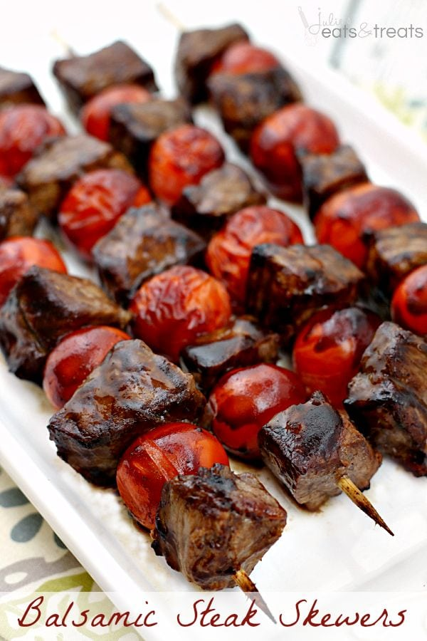 Balsamic Steak Skewers