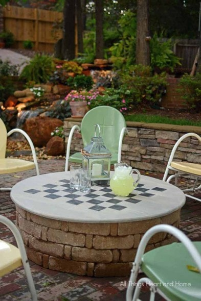 Checkers Fire Pit