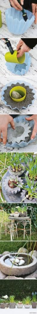 Concrete Plant Holders