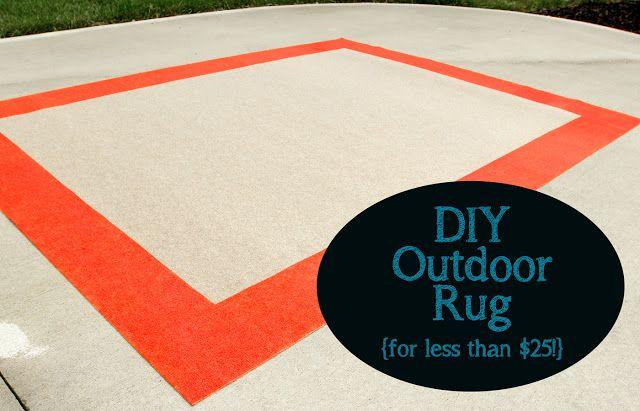 DIY Outdoor Rug
