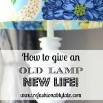 DIY Lamp Revamp