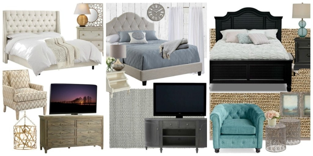 Mom's Master Bedroom Choices - www.refashionablylate.com