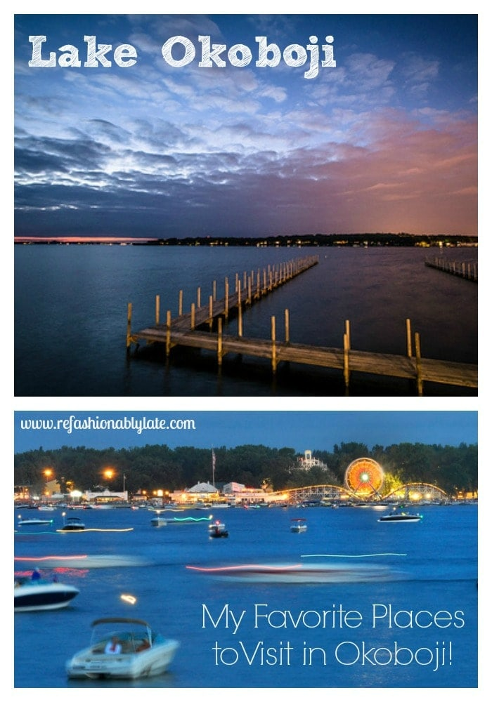 Friday Favorite: Lake Okoboji - www.refashionablylate.com