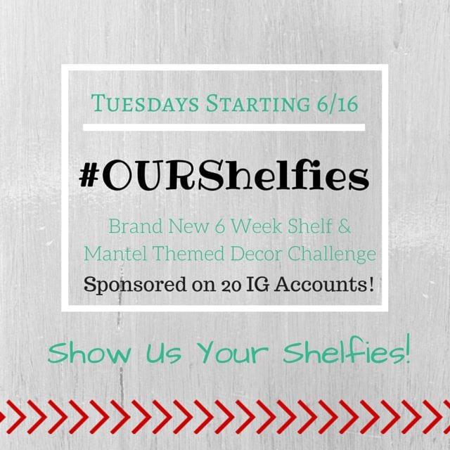 OURshelfies Instagram Challenge - www.refashionablylate.com