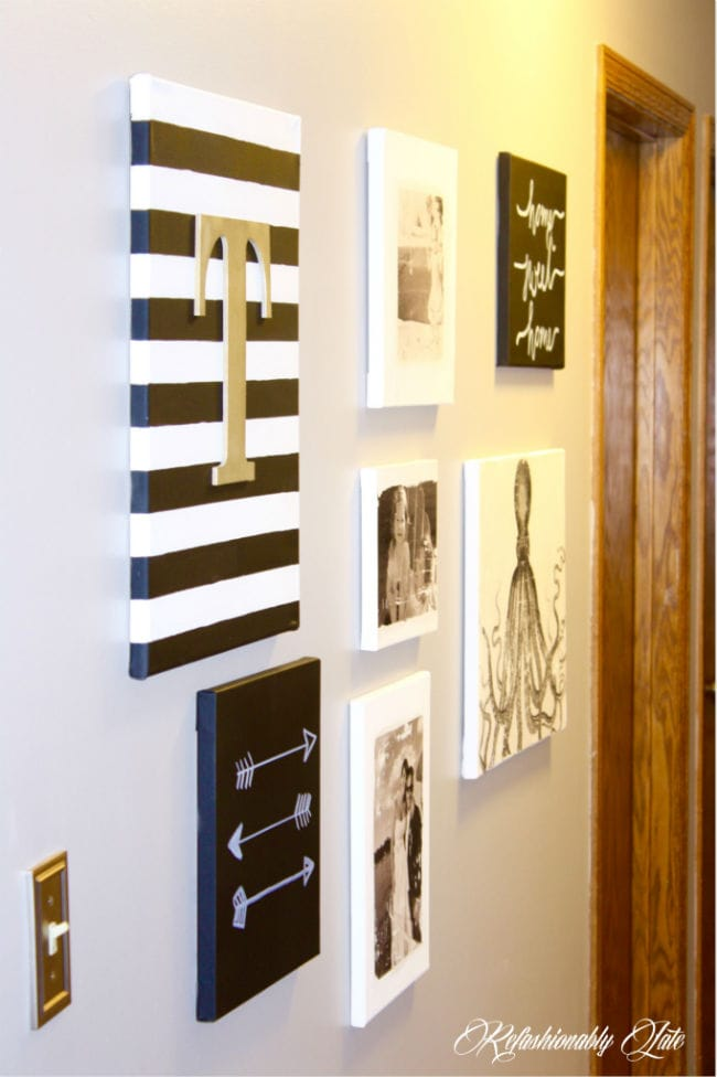 DIY Canvas Wall Art - www.refashionablylate.com