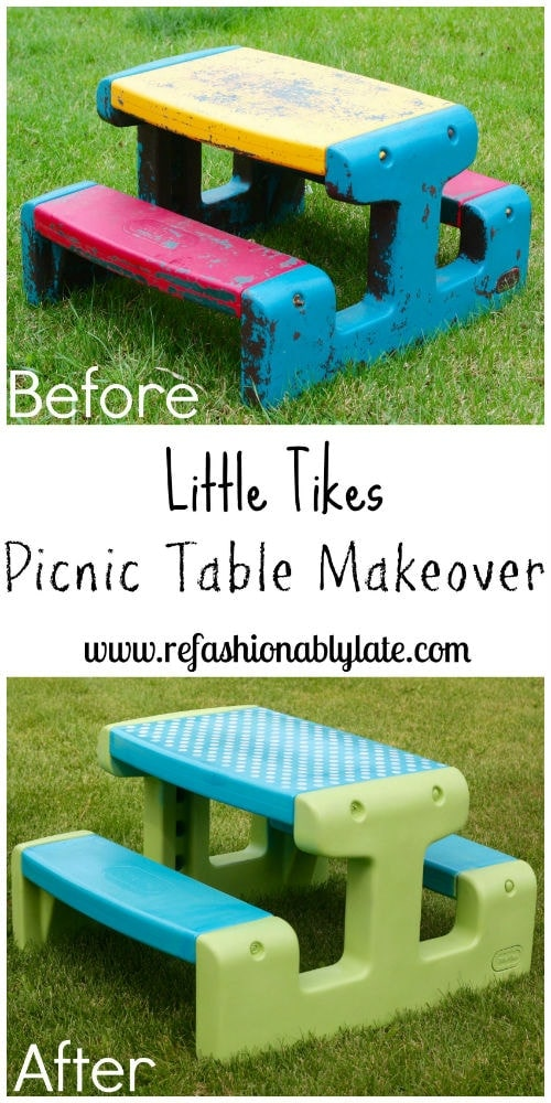Picnic Table Collage Redo