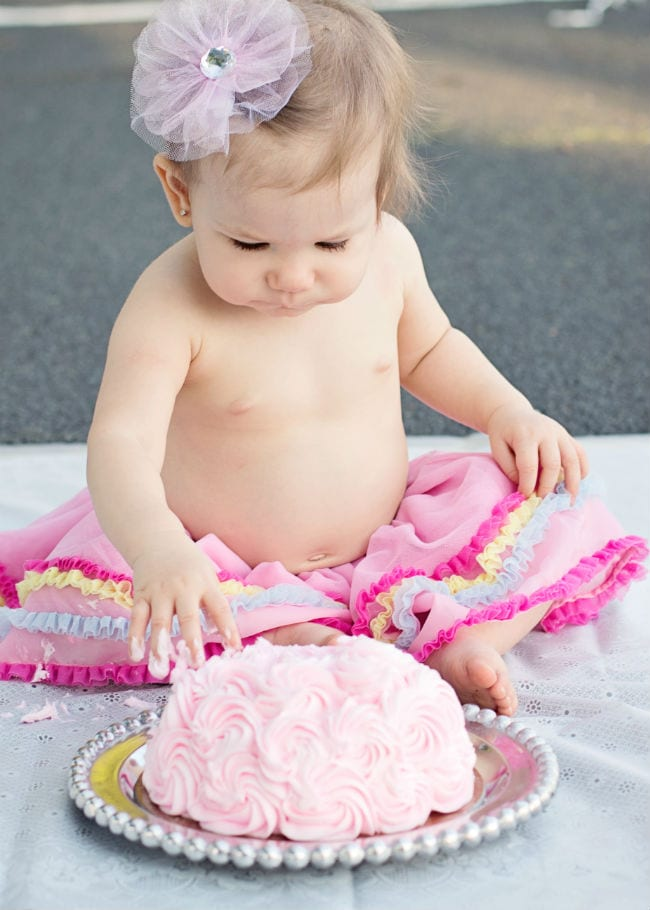 Lucy's 1st Birthday - www.refashionablylate.com