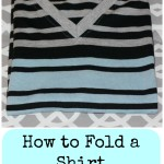 How to Fold Shirts Perfectly Every Time