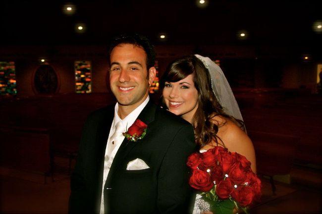 A Damask Wedding - www.refashionablylate.com