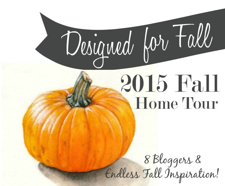 Fall Home Tour - www.refashionablylate.com