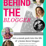 Behind the Blogger