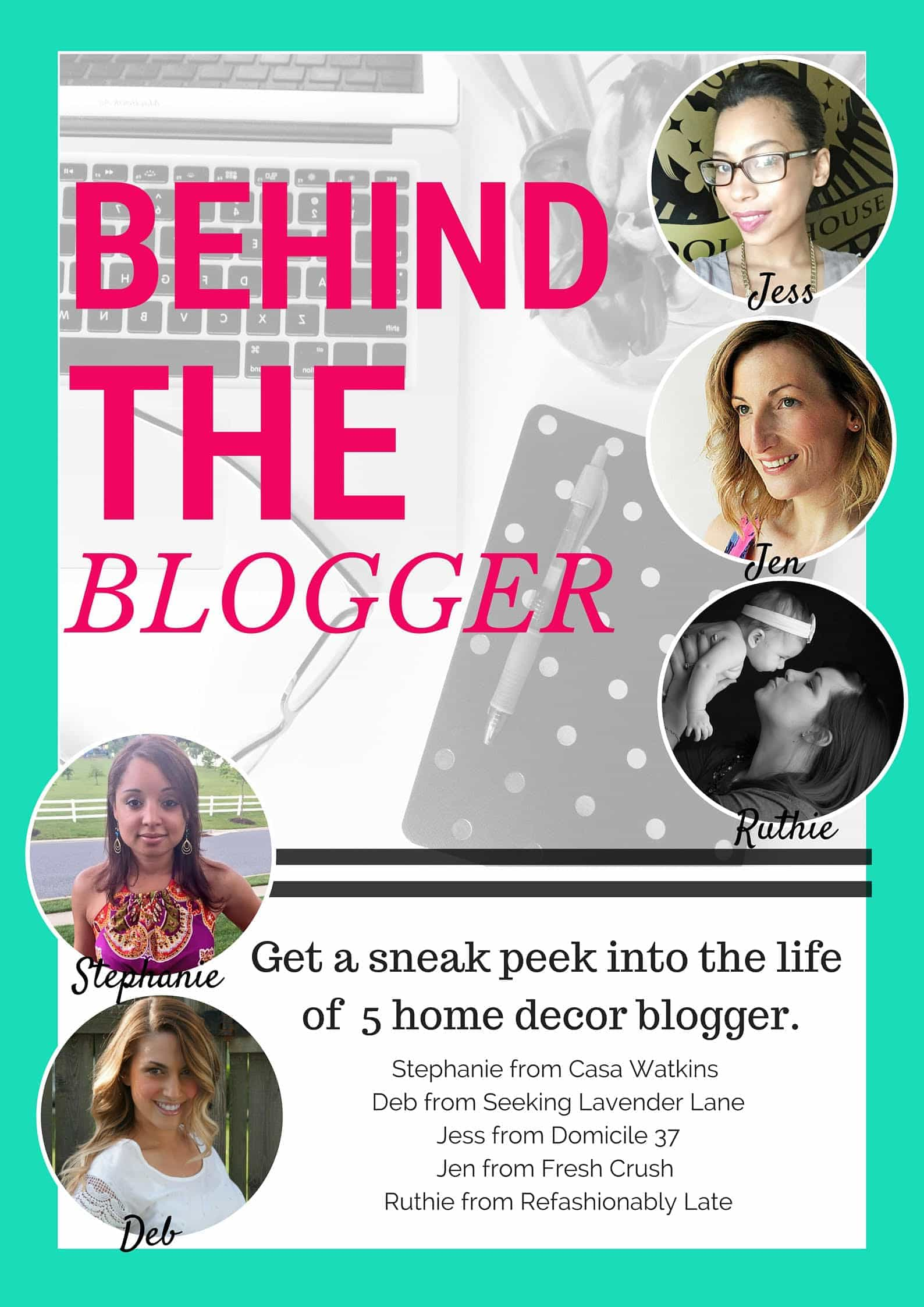 Behind the Blogger Photo
