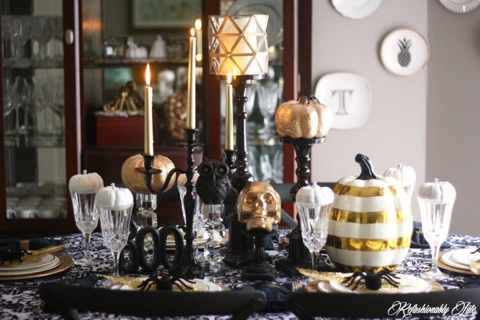 A Stylish Spooky Soiree - www.refashionablylate.com