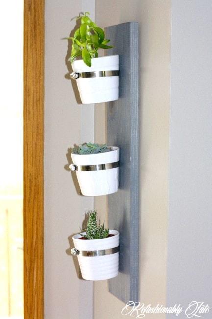 Hanging Succulent Planter - www.refashionablylate.com