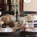 DIY Fall Place Cards and Pecan Pie Spice Cake