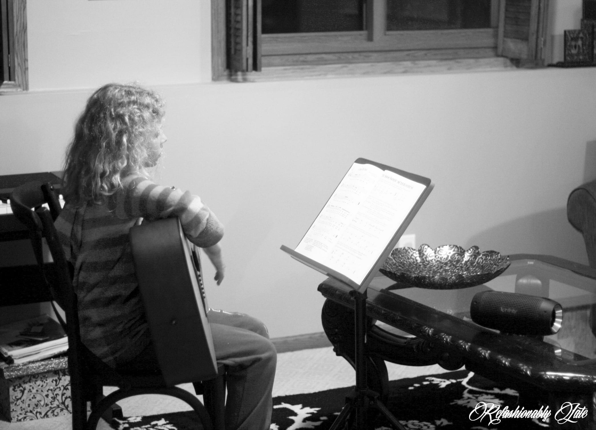 My Musical Life - www.refashionablylate.com